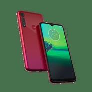 Moto_g8_play_foto_produto_frente_e_verso_vermelho_magenta