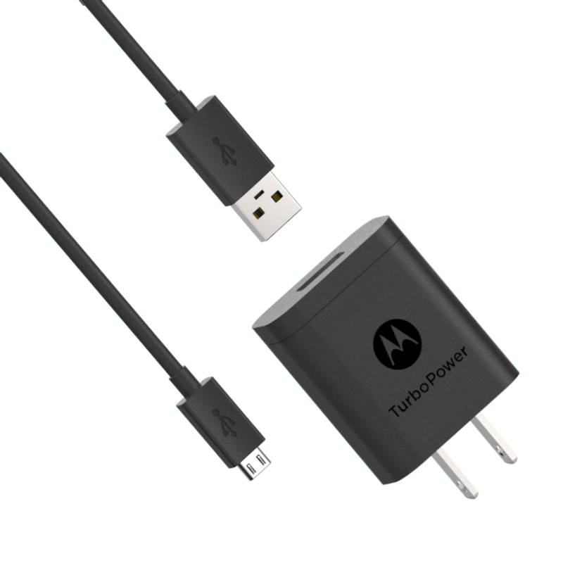 Cargador-de-pared-Motorola-TurboPower-18-USB-A-w-1m-micro-USB-cable