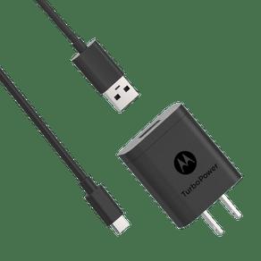 Cargador-de-pared-Motorola-TurboPower-18-USB-A-w-1m-USB-C-cable