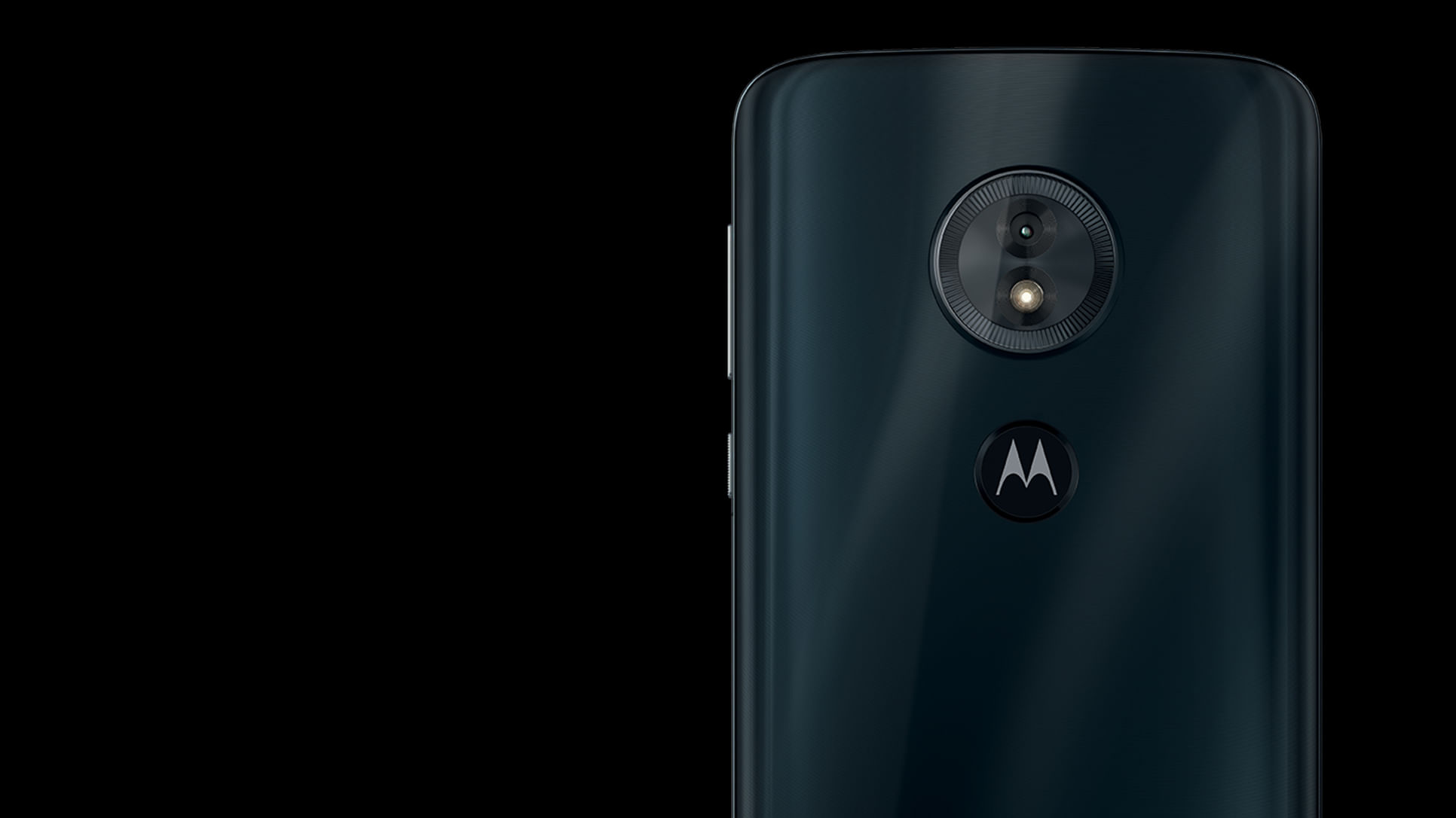 parte de trás do Moto g6 play